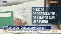Impôts, retraites... Les pistes envisagées pour les annonces d'Emmanuel Macron après le grand débat