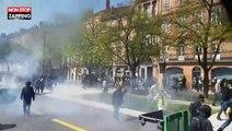 Gilets jaunes : premiers affrontements avec les forces de l'ordre à Toulouse (vidéo)