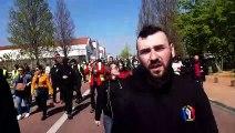 Acte XXII des Gilets jaunes à Roanne  interview de Felix Altobelli, organisateur de la manifestation régionale