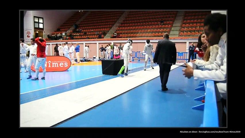 Escrime Nîmes 2019 Circuit National Elite Samedi 13 avril tableau 256