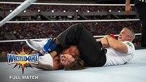 FULL-MATCH: WWE WrestleMania 33 - Shane McMahon vs. AJ Styles   Wrestling Archives