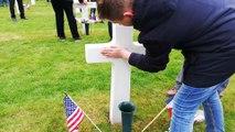 Le Kiwanis de Charmes parraine 20 tombes au cimetière militaire du Quéquement