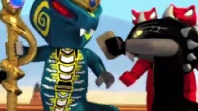 LEGO NinjaGo Masters of Spinjitzu S02E08 The Day Ninjago Stood Still