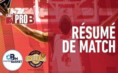 PRO B : Chartres vs Orléans (J26)