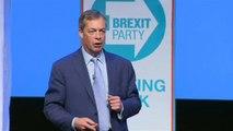 Brexit : Nigel Farage lance sa campagne eurosceptique pour les européennes