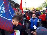 l'arrivée des Grenoblois au Stade des Alpes avant FCG vs Toulon - 13042019