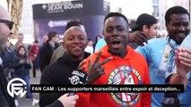 FanCam OM - Nîmes (2-1) : Pour les supporters marseillais la victoire de l'OM face à Nîmes ne sauve pas Garcia...