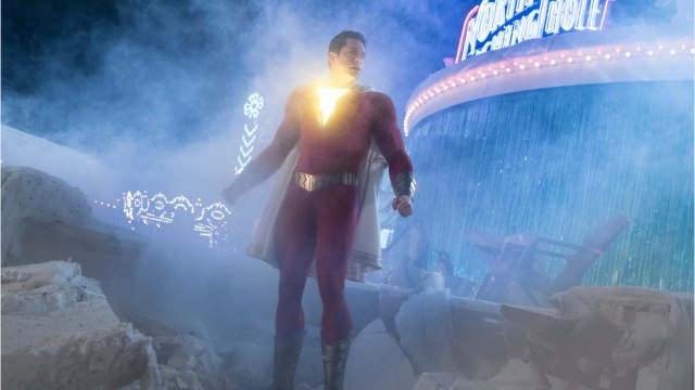 'Shazam' Up, Hellboy Down At The Box Office
