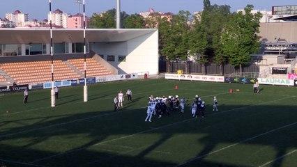 Panthers Parma - Lions Bergamo 40-7, highlights e interviste