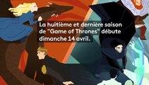 """Sept chiffres fous qui montrent que """"Game of Thrones"""" est une série télé hors norme"""