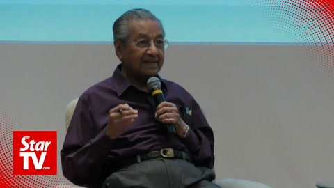 Dr M: Foreigners will become fourth force in Malaysia if locals shun certain jobs