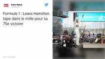 Formule 1. GP de Chine: Lewis Hamilton remporte le 1000e Grand Prix de l'histoire