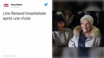 Line Renaud hospitalisée pour une fracture de la cheville