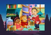 Daniel Tiger 1-06  Daniel And Miss Elaina Play Rocketship - Daniel Plays At The Castle (HD)