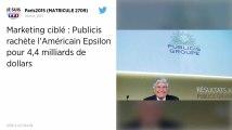 Publicis rachète l'américain Epsilon pour 4,4 milliards de dollars