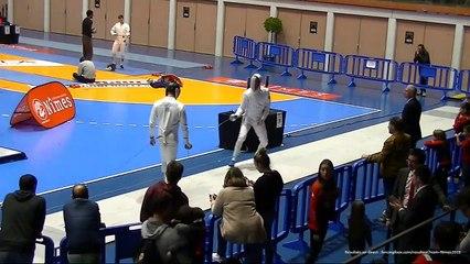 Escrime Nîmes 2019 Circuit National Elite Dimanche 14 Avril Demi finale tableau principal