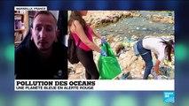 """Pollution des océans: """"D'ici 2050, il y aura plus de plastique dans les océans que de poissons"""""""