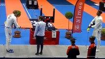 Escrime Nîmes 2019 Circuit National Elite Dimanche 14 Avril Finale