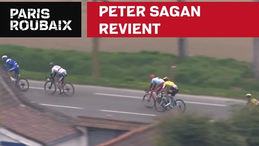 Peter Sagan revient  - Paris-Roubaix 2019