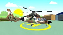 Vehicles & Military Machines, Helicopters, Cars, Tank | Colorful video for Kids | Maszyny Wojskowe #