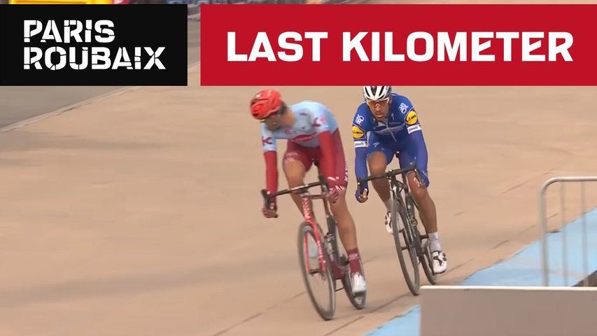 Last Kilometer - Paris-Roubaix 2019 - Philippe Gilbert wins Paris-Roubaix