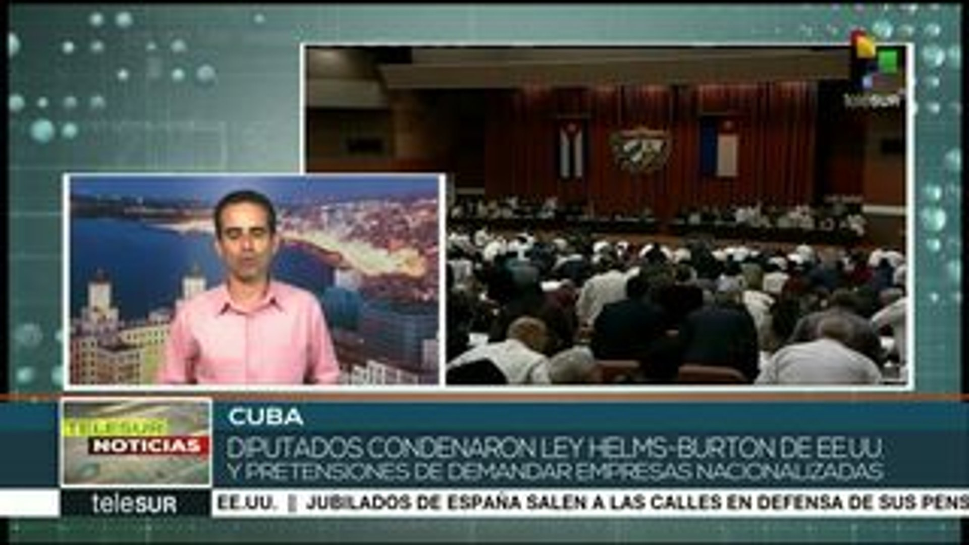3a sesión extraordinaria de la Asamblea del Poder Popular en Cuba