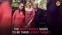 Kangana Ranaut's sister Rangoli says Mahesh Bhatt threw a shoe at the actress at the Woh Lamhe screening