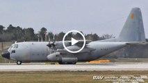 Lockheed KC-130H Hercules - Spanish Air Force TK.10-11 (31-53) - taxiing and takeoff at Manching Air Base [2160p25]