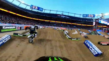 GoPro: Adam Cianciarulo's 250 Main Event Win Highlights 2019 Monster Energy Supercross From Denver