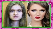 Femmes avec et sans maquillage , Votez pour le changement le plus impressionnant
