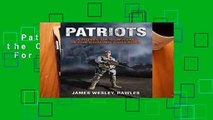 Patriots: Surviving the Coming Collapse  For Kindle