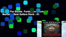 About For Books  Forbidden (Books of Mortals)  Best Sellers Rank : #5