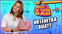 Hrishitaa Bhatt Handbag Secret Revealed | What's In Your Bag | TellyMasala