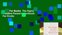 About For Books  The Highly Sensitive Person's Workbook  For Kindle