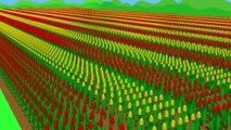 Le printemps Blue #Tractor | The Story of the Tulips - Planting est Harvest | Tracteur de Collection de Tulipes
