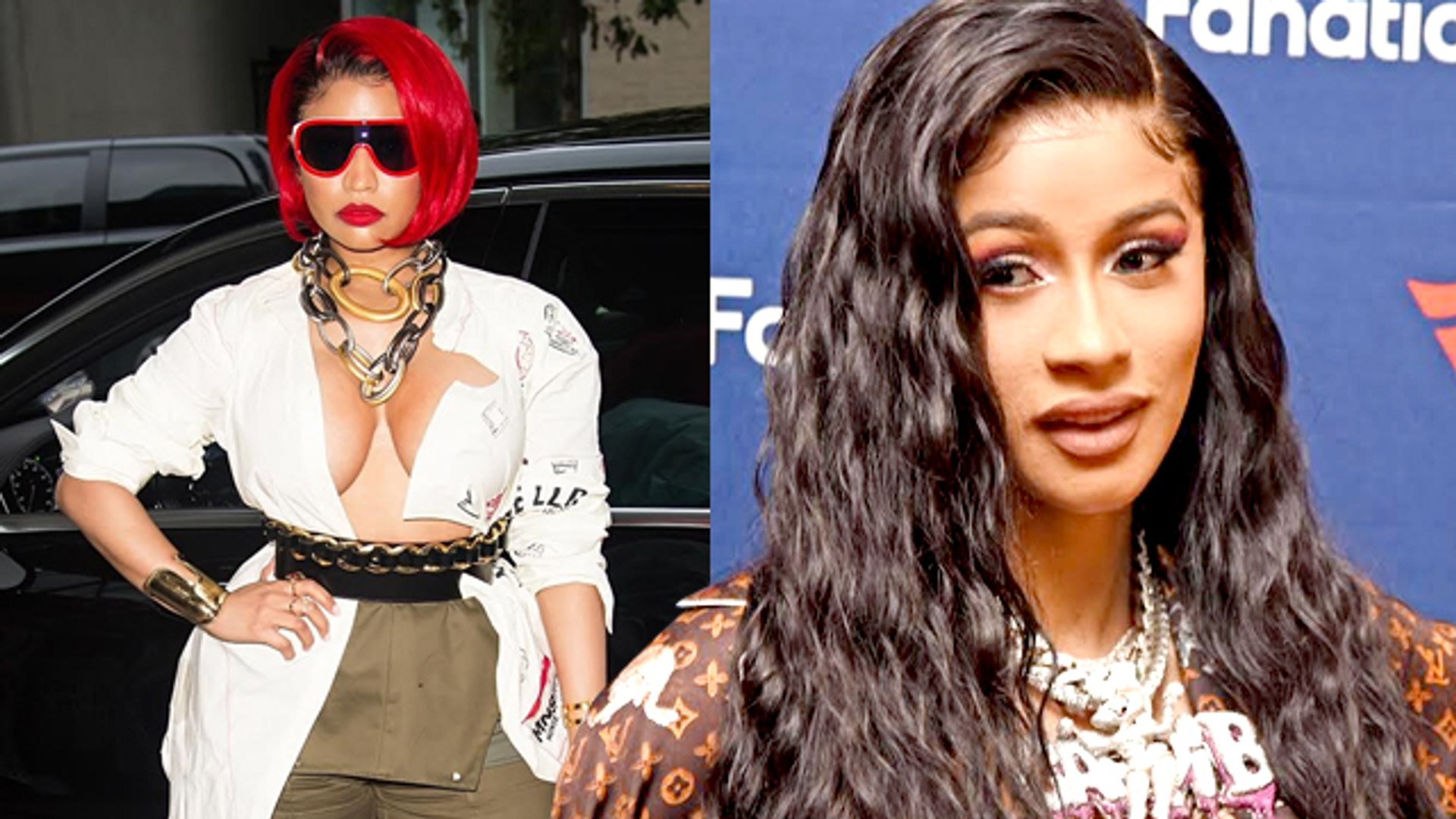 Here's What Cardi B Thinks About Collaborating With Nicki Minaj!