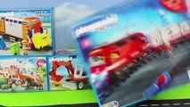 Camion De Pompiers, Excavatrice, Train, Voitures De Police, Camions À Ordures Et Tracteur Construction Kids Toy Véhicules | Gertie S. Bresa