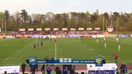 PRO D2 - Résumé Massy-Mont-de-Marsan_ 24-28 - J28 - Saison 2018_2019