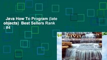 Java How To Program (late objects)  Best Sellers Rank : #4