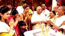 Shilpa Shetty Celebrates Ram Navami With Son Viaan At ISKCON Temple