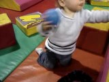 Lucas & Leo in ball pit