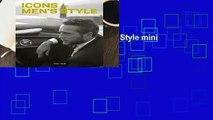 [GIFT IDEAS] Icons of Men s Style mini (LK Mini) by Josh Sims