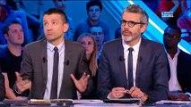 """Pierre Ménès boude après avoir été remis en place par Alain Roche sur le plateau du """"Canal Football Club"""" - VIDEO"""