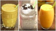 Summer Milkshake Recipes - Summer Drinks - Easy Milkshake For Summer - 3 Best Summer Milkshake