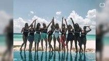 Caroline Wozniacki Has Bahamas Bachelorette Party With Serena Williams
