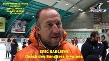 Hockey sur glace Interview Eric Sarlieve 2019-04-13 Finale Championnat de France Division 2