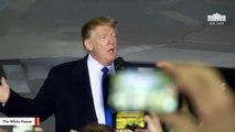 Trump Slams Nancy Pelosi For Defending 'Her Leader' Ilhan Omar's 'Ungrateful U.S. Hate' Statements