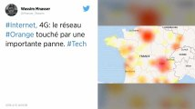 Internet, 4G: le réseau Orange touché par une panne importante