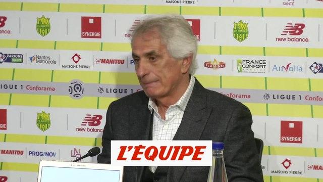 Halilhodzic s'attend à «des Parisiens vexés» - Foot - L1 - Nantes