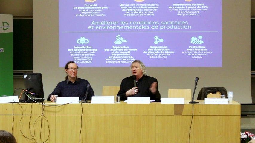 JSE 2019 - Soirée inaugurale - Conférence de Joël Labbé